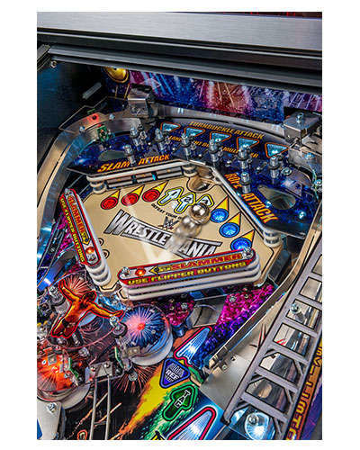 WWE Wrestlemania Pro Pinball game details 2 at Joystix