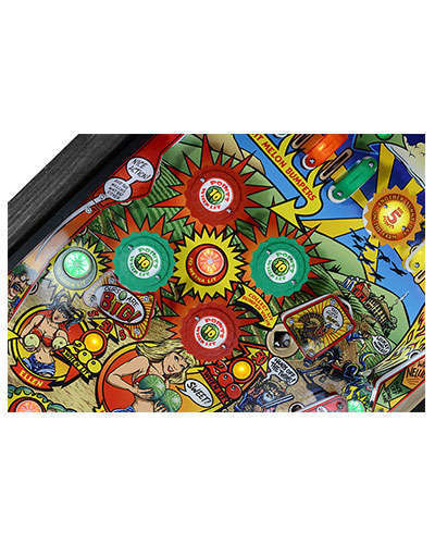 Whoa Nellie Big Juicy Melons Pinball details 4 at Joystix