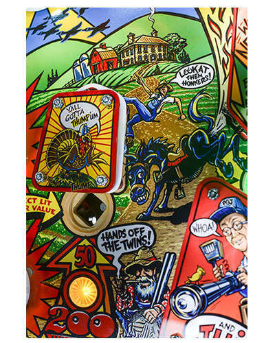 Whoa Nellie Big Juicy Melons Pinball details 6 at Joystix