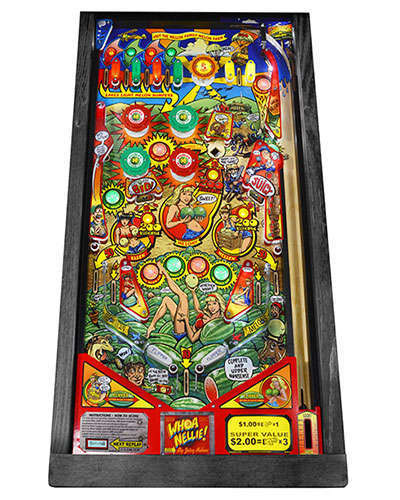 Whoa Nellie Big Juicy Melons Pinball playfield at Joystix