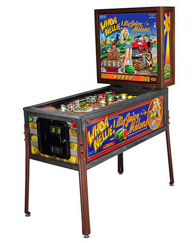 Whoa Nellie Big Juicy Melons Pinball with legs at Joystix