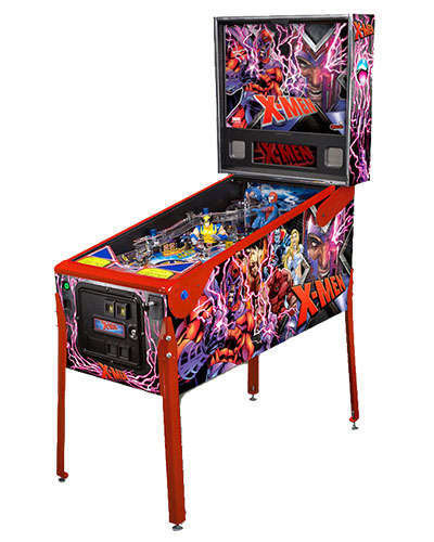 X Men Magneto LE pinball at Joystix