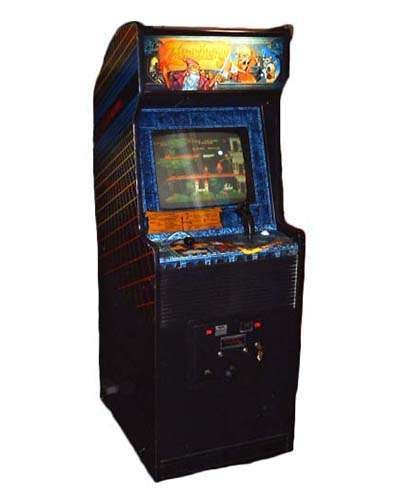 Zwackery arcade game at Joystix