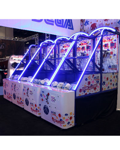 sega sonic basketball LED