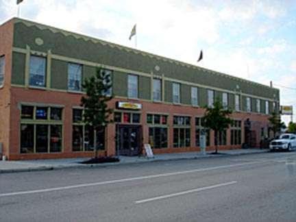 Joystix street view of building