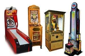 Carnival Arcade Games at Joystix
