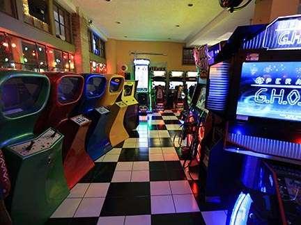 Joystix Showroom games