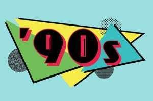 the 90s at joystix