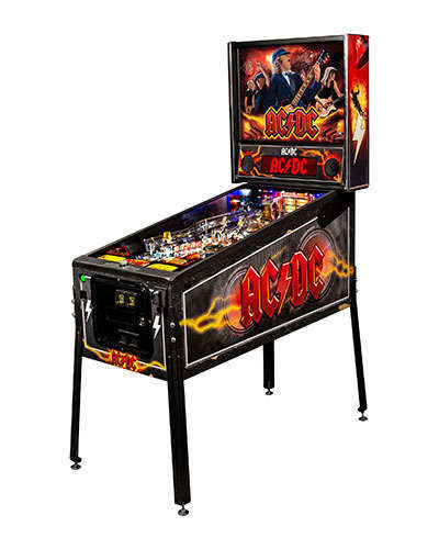 AC DC Pro Vault Edition Pinball at Joystix