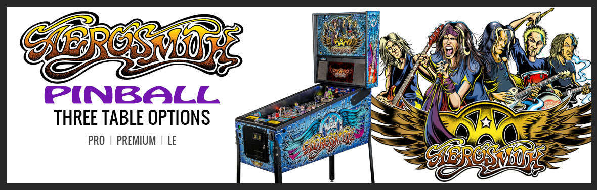 Aerosmith Pinball Slider