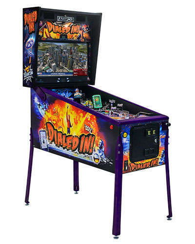 Dialed In Collectors Edition pinball cabinet 1