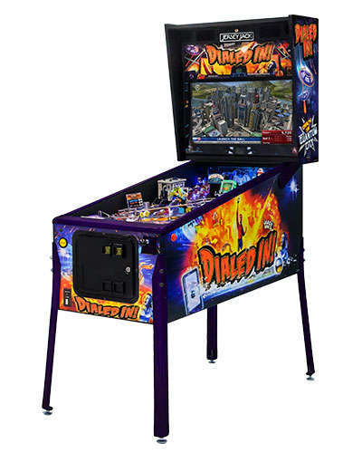 Dialed In Collectors Edition pinball cabinet 2