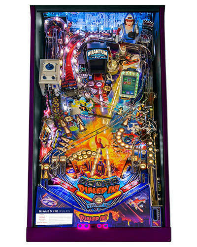 Dialed In Collectors Edition pinball playfield 1