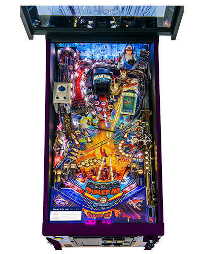 Dialed In Collectors Edition pinball playfield 2