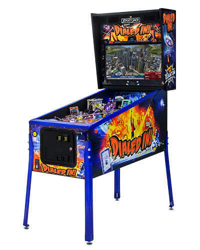 Dialed In Limited Edition pinball cabinet 2