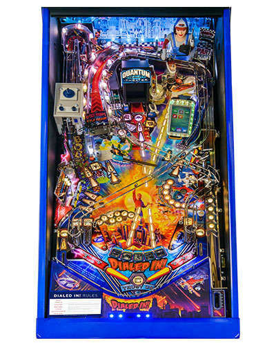 Dialed In Limited Edition pinball playfield 1