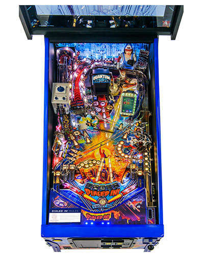 Dialed In Limited Edition pinball playfield 2