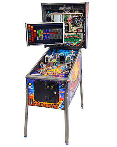 Dialed In Standard Edition pinball back box