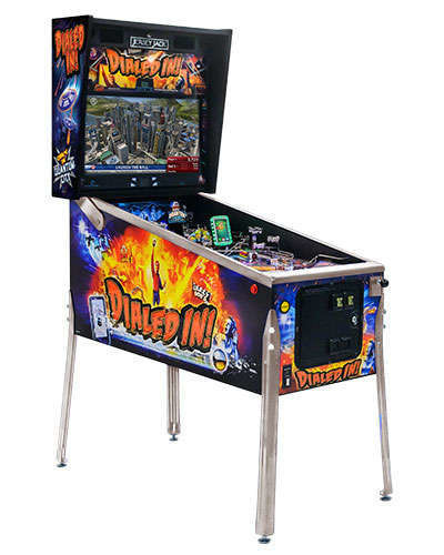 Dialed In Standard Edition pinball cabinet 1