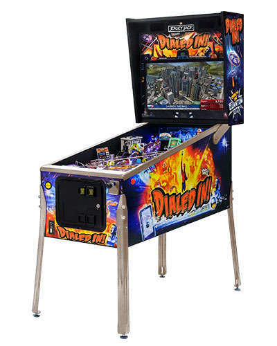 Dialed In Standard Edition pinball cabinet 2