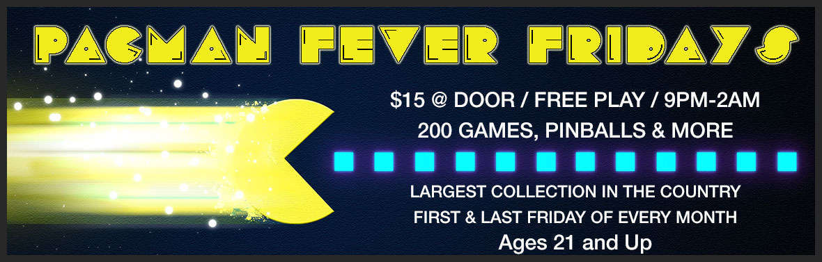 Pacman Fever Fridays Slider
