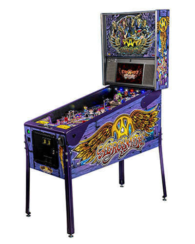 Aerosmith Limited Edition pinball at Joystix 2