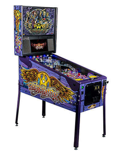 Aerosmith Limited Edition pinball at Joystix