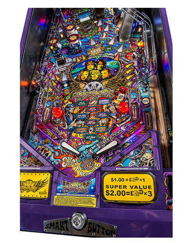 Aerosmith Limited Edition pinball details at Joystix 1