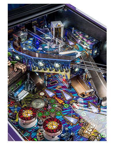 Aerosmith Limited Edition pinball details at Joystix 2