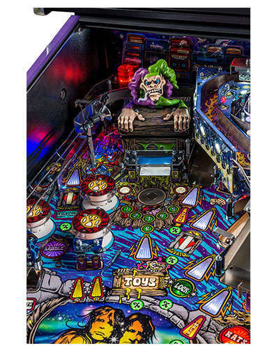 Aerosmith Limited Edition pinball details at Joystix 3
