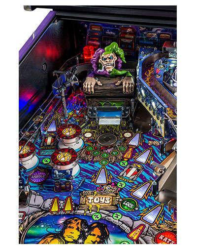 Aerosmith Limited Edition pinball details at Joystix 3