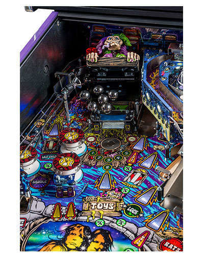 Aerosmith Limited Edition pinball details at Joystix 4