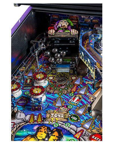 Aerosmith Limited Edition pinball details at Joystix 4