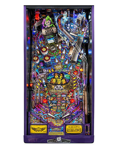 Aerosmith Limited Edition pinball playfield at Joystix