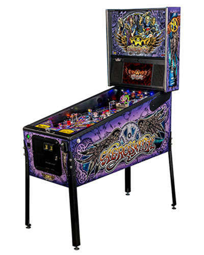 Aerosmith Premium pinball at Joystix 2