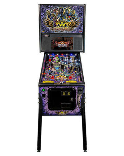 Aerosmith Premium pinball at Joystix 3