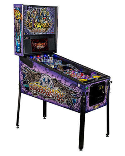 Aerosmith Premium pinball at Joystix