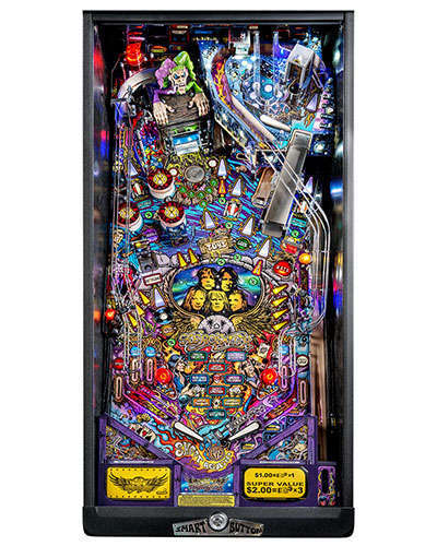 Aerosmith Premium pinball playfield at Joystix