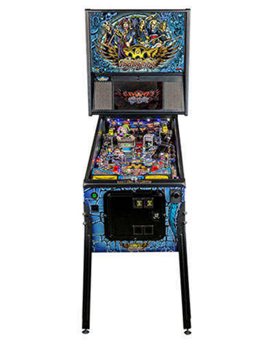 Aerosmith Pro pinball at Joystix 3