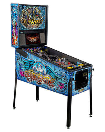 Aerosmith Pro pinball at Joystix