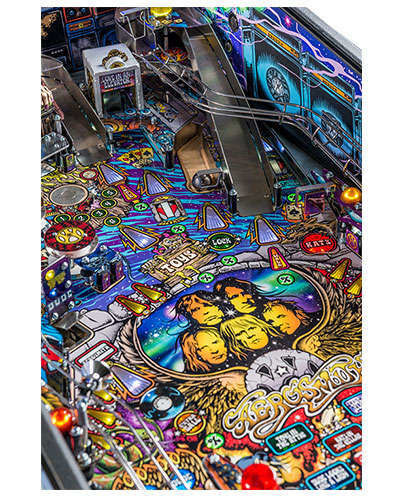 Aerosmith Pro pinball details at Joystix 1