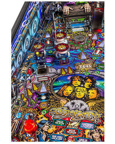 Aerosmith Pro pinball details at Joystix 2