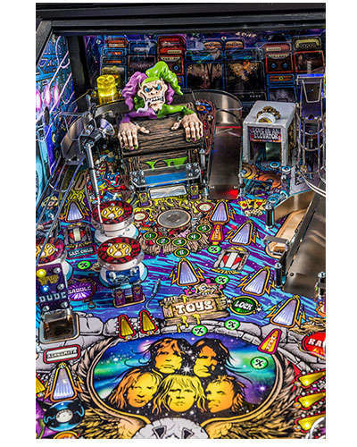 Aerosmith Pro pinball details at Joystix 3