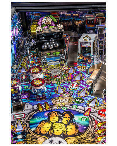 Aerosmith Pro pinball details at Joystix 4
