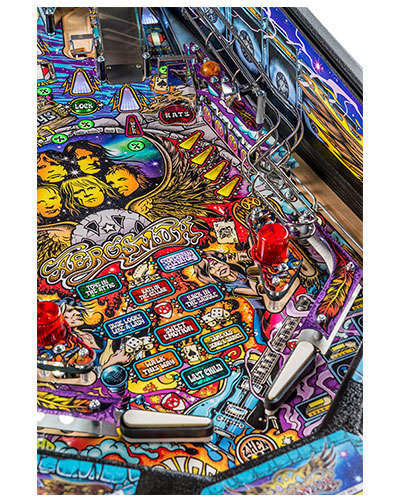 Aerosmith Pro pinball details at Joystix 5