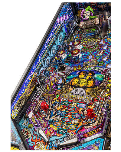 Aerosmith Pro pinball details at Joystix 6