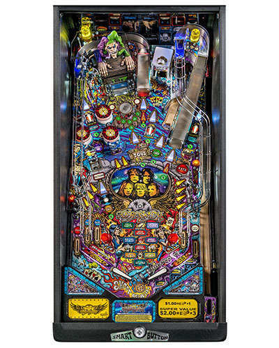 Aerosmith Pro pinball playfield at Joystix