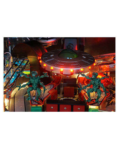 Attack From Mars Classic Edition large Saucer at Joystix