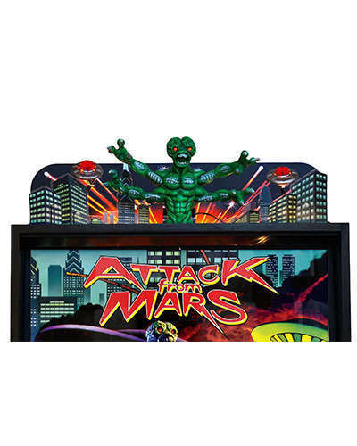 Attack From Mars Limited Edition Topper at Joystix