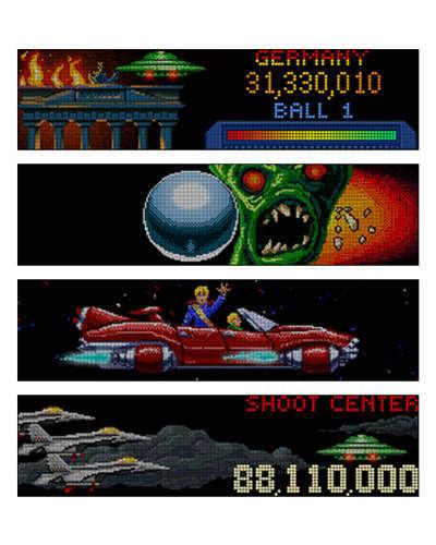 Attack From Mars Special Edition Display 2 at Joystix